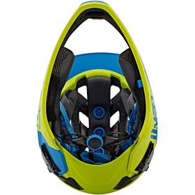 Leatt Brace DBX 3.0 Enduro Helmet Blue/Lime